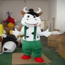 Supply Mengniu Dairy Cattle Walking Cartoon Doll Clothing Doll Clothing Cartoon Clothing Doll Clothing Doll Costumes Mascot Costume