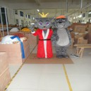 Supply Red Taro Wolf Cartoon Doll Clothing Cartoon Clothing Walking Cartoon Dolls Clothing Dolls Costumes Mascot Costume