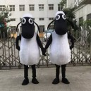 Supply Cartoon Doll Costume Shaun The Sheep Show Props Walking Dolls Cartoon Clothing Apparel Shaun The Sheep Mascot Costume