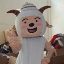 Lazy Goat Slow Yang Yang Village Cartoon Show Clothing Costumes Walking Cartoon Dolls Dolls Mascot Costume