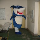 Supply Shark Cartoon Walking Doll Clothing Cartoon Dolls Cartoon Costumes Performance Clothing Mascot Costume