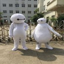 Supply Cartoon Doll Clothing Corps White People Wearing White Walking Doll Props Doll Clothes Mascot Costume