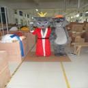 Supply Red Taro Wolf Cartoon Doll Clothing Walking Cartoon Doll Cartoon Clothing Cartoon Doll Cartoon Costumes Mascot Costume