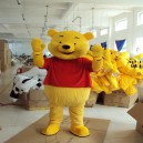 Supply Winnie The Pooh Cartoon Dolls Clothing Walking Cartoon Dolls Decorated with Winnie The Pooh Doll Clothing Mascot Costume