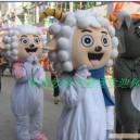Supply Cartoon Doll Clothing Cartoon Costumes Cartoon Doll Clothing Frankie Wolf Pleasant Mascot Costume