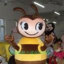 Supply Cartoon Doll Clothing Costume Dolls Walking Cartoon Cartoon Bee Costumes Mascot Costume