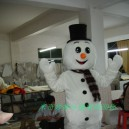 Supply Costumes Walking Cartoon Doll Cartoon Costumes Costumes Cartoon Costumes Performing Snowman Mascot Costume