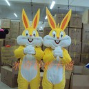 Supply Gold Bugs Bunny Cartoon Costume Cartoon Character Costumes Cartoon Doll Clothing Cartoon Clothing Gold Rabbit Mascot Costume