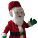 Supply Santa Claus Cartoon Doll Clothing Walking Cartoon Doll Clothing Doll Christmas Props Mascot Costume