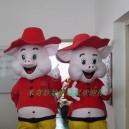 Supply Sun Pig Cartoon Clothing Cartoon Doll Doll Cartoon Clothing Happy Pig Costumes Mascot Costume