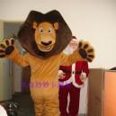 Supply Doll Clothing Cartoon Costumes Cartoon Costumes Cartoon Costumes Performing Lions Madagascar Mascot Costume