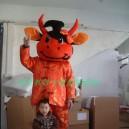 Supply Manufacturers Cartoon Walking Doll Clothing Cartoon Doll Costumes Cartoon Cow Costume Mascot Costume