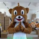 Supply Manufacturers Dolls Walking Cartoon Doll Clothing Cartoon Costumes Cartoon Clothing Shar Pei Mascot Costume