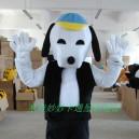Supply Manufacturers Dolls Walking Cartoon Doll Clothing Cartoon Costumes Cartoon Clothing Snoopy Mascot Costume