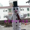 Supply Snowman Costumes Walking Cartoon Doll Clothing Cartoon Costumes Stage Performance Props Promotions Mascot Costume