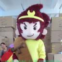 Supply Cartoon Costumes Walking Cartoon Walking Doll Clothing Doll Clothing Props Monkey Mascot Costume