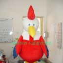 Supply Rooster Cartoon Dolls Walking Cartoon Doll Clothing Cartoon Clothing Costumes Mascot Costume