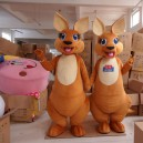 Supply Simeon Kangaroo Cartoon Doll Clothing Cartoon Walking Doll Clothing Cartoon Costumes Cartoon Clothing Mascot Costume