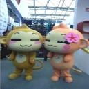 Supply Youxihou Hiphop Clothing Monkey Cartoon Dolls Walking Cartoon Dolls Doll Costumes Cartoon Costumes Mascot Costume