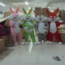 Supply Bugs Bunny Cartoon Bunny Costume Dolls Walking Cartoon Doll Clothing Cartoon Costumes Doll Costumes Mascot Costume