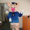Supply Dr. Pig Cartoon Doll Clothing Doll Clothing Cartoon Walking Doll Cartoon Props Clothes Mascot Costume