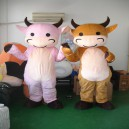Supply Mengniu Cow Baby Cartoon Clothing Cartoon Dolls Dolls Dolls Clothing Walking Cartoon Costumes Mascot Costume