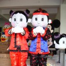 Supply Timers Cartoon Walking Doll Clothing Doll Clothing Cartoon Costumes Cartoon Doll Performances Mascot Costume