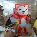 Supply A Raccoon Cartoon Walking Doll Clothing Doll Clothing Cartoon Cartoon Doll Doll Costumes Mascot Costume