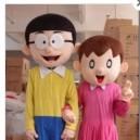 Supply Cartoon Costumes Walking Cartoon Dolls Cartoon Doll Dress Performance Props Nobita Shizuka Mascot Costume