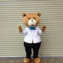 Supply Cartoon Costumes Walking Cartoon Dolls Cartoon Doll Dress Performance Props Teddy Bear Mascot Costume