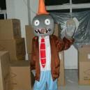 Supply Cartoon Costumes Walking Cartoon Dolls Cartoon Doll Dress Performance Props Zombie Road Barrier Mascot Costume