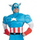 Supply Cartoon Costumes Walking Cartoon Dolls Clothes Show Props Props Captain America Mascot Costume