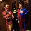 Supply Cartoon Costumes Walking Cartoon Dolls Clothing Performance Props Costume Iron Man Mascot Costume