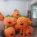 Supply Orange Cartoon Clothing Cartoon Dolls Walking Cartoon Doll Clothing Performance Props Props Orange Fruit Mascot Costume