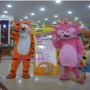 Supply Plump Cartoon Tiger Tigger Costume Dolls Walking Cartoon Doll Clothing Doll Clothing Costumes Mascot Costume