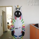Supply Zebra Mascot Cartoon Costumes Walking Cartoon Doll Clothing Cartoon Dolls Props Mascot Costume