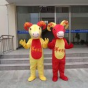 Supply Cartoon Costumes Walking Cartoon Dolls Cartoon Doll Dress Performance Props Sheep Sheep Mascot Mascot Costume