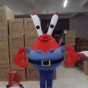 Supply Cartoon Costumes Walking Cartoon Dolls Cartoon Doll Dress Performance Props Crab Mascot Costume
