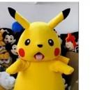 Supply Cartoon Clothing Cartoon Dolls Walking Cartoon Character Pikachu Dress Performance Props Mascot Costume
