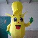 Supply Cartoon Costumes Walking Cartoon Dolls Cartoon Doll Dress Performance Props Bananas Mascot Costume