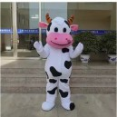 Cartoon Costumes Walking Cartoon Dolls Cartoon Doll Dress Performance Props Cows Mascot Costume
