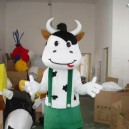 Supply Cartoon Costumes Walking Cartoon Dolls Cartoon Doll Dress Performance Props Cows Mascot Costume