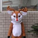 Supply Cartoon Costumes Walking Cartoon Dolls Cartoon Doll Dress Performance Props Deer Mascot Costume