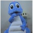 Supply Cartoon Costumes Walking Cartoon Dolls Cartoon Doll Dress Performance Props Dinosaur Blue Dragon Mascot Costume