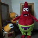 Supply Cartoon Costumes Walking Cartoon Dolls Cartoon Doll Dress Performance Props Fat Starfish Mascot Costume