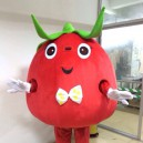 Supply Cartoon Costumes Walking Cartoon Dolls Cartoon Doll Dress Performance Props Large Tomato Mascot Costume