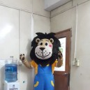 Supply Cartoon Costumes Walking Cartoon Dolls Cartoon Doll Dress Performance Props Lion Mascot Costume
