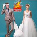 Supply Cartoon Costumes Walking Cartoon Dolls Cartoon Doll Dress Performance Props Props Propose Rabbit Head Mascot Costume