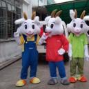 Supply Cartoon Costumes Walking Cartoon Dolls Cartoon Doll Dress Performance Props Sheep Mascot Costume