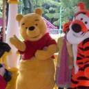 Supply Cartoon Costumes Walking Cartoon Dolls Cartoon Doll Dress Performance Props Winnie The Pooh Mascot Costume